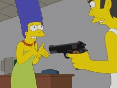 The Simpsons 19x04 : I Don't Wanna Know Why the Caged Bird Sings- Seriesaddict